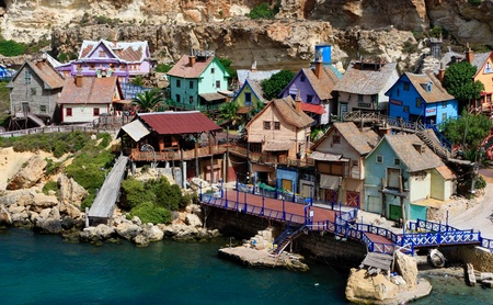 Popeye Village in Malta photo