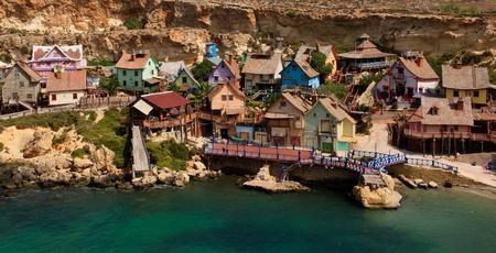 malta cities: Popeye Village in Malta