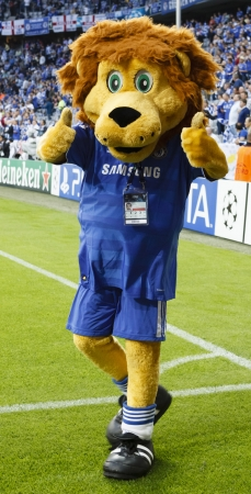 MUNICH, May 19 - The Lion of Chelsea before FC Bayern Munich vs. Chelsea FC UEFA Champions League Final game at Allianz Arena on May 19, 2012 in Munich, Germany.
