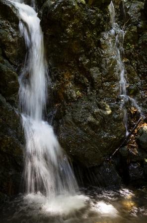 kreta: Waterfall at Argyroupolioli