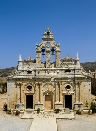 arkady: Monastery of Arkadiou, Stock Photo