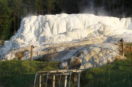 Limestone hill at Egerszalok Stock Photo - 20067239