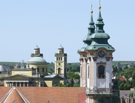 Two temples of Eger photo