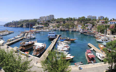 The harbour of Antalya Editorial