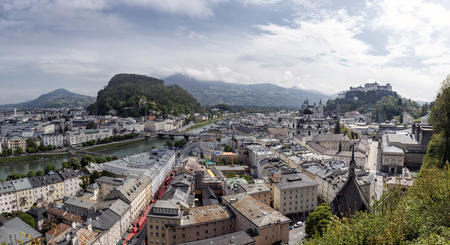 The city of Salzburg photo