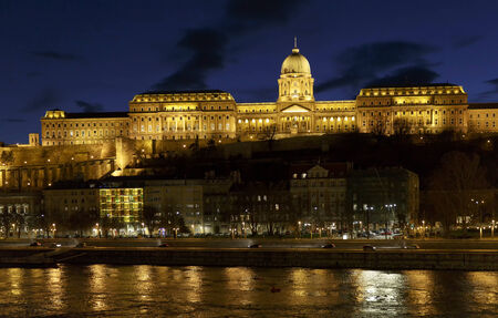 buda: The Castle of Buda in Hungary