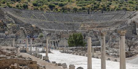 Ephesus: Theater Stok Fotoğraf