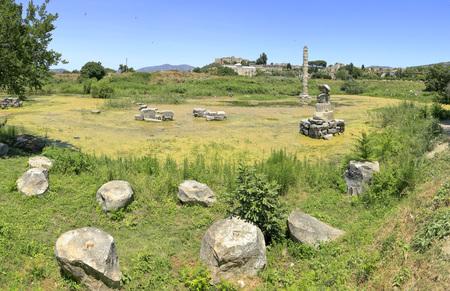 templo griego: Selcuk: Templo de Artemisa