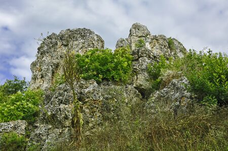 geological formation: The Golden House geological formation in Tihany