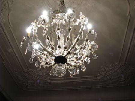 elegant ceiling light - chandelier