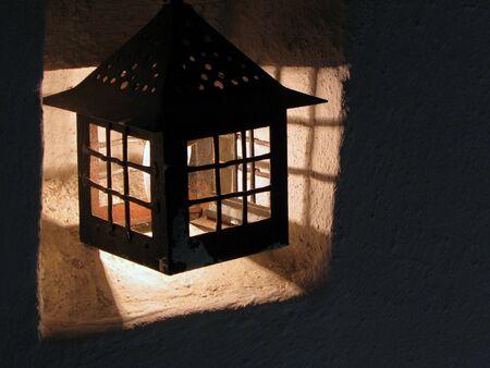 castle lantern photo