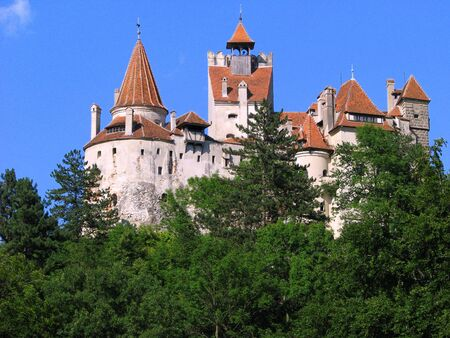 bran castle transylvania medieval fortress Stock Photo - 4236635