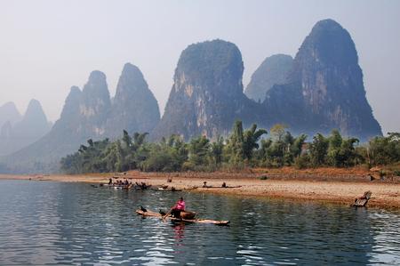 guilin: Scenery at Guilin, China Editorial