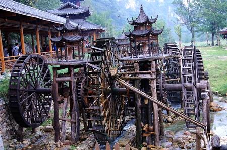 watermill: Watermill at Zhangjiajie, Hunan