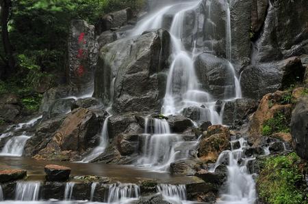 Jiuhua Tianchi falls, Anhui, Chizhou