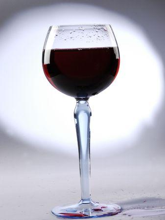 after midnight: Wine toast Stock Photo