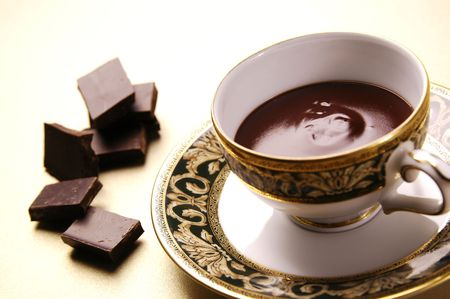 warm drink: Chocolate