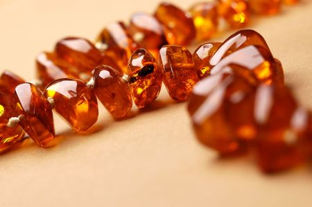 Amber necklace photo