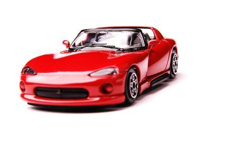 carritos de juguete: Deportes coche  Foto de archivo