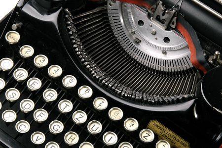 missive: typewriter Stock Photo
