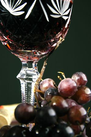 Glass with wine Stock Photo - 3447795