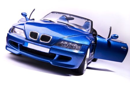 dodge: blue car