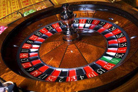 rueda de la fortuna: Juego de casino Foto de archivo
