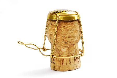 opulence: Champagne cork Stock Photo