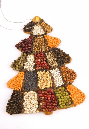 blithe: Christmas tree cake