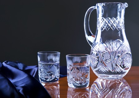 Glass on the table Stock Photo - 4299908