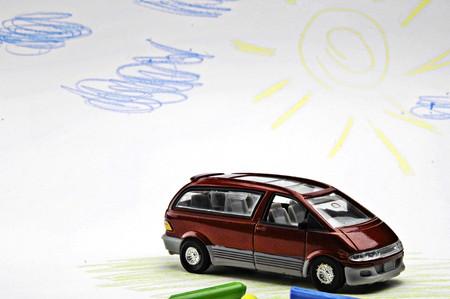 motor de carro: viaje de vacaciones