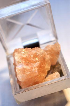 salt cube Stock Photo