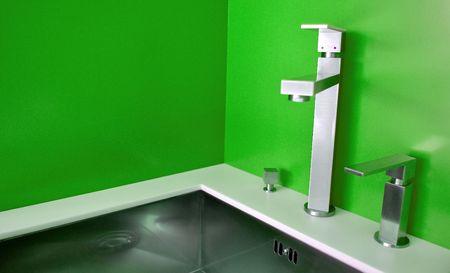 Modern kitchen sink photo