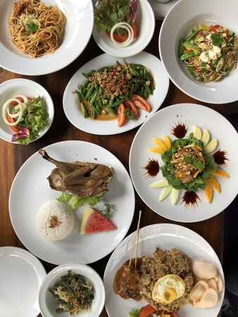 Balinese Sumptuous Meal