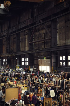 antique factory: September 2014, NDSM, Amsterdam Noord. The monthly Ijhallen weekend flee market in the old ship factory, the NDSM Hall .
