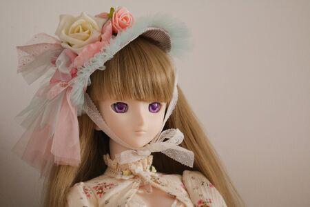 girl doll: girl doll Stock Photo