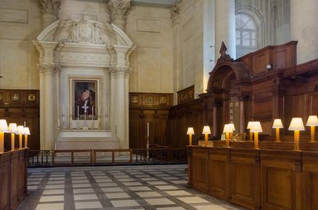 anglican: St.Pauls Anglican Cathedral interior, Valletta, Malta