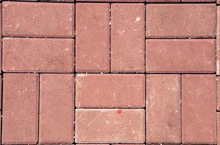 brick floor: Brick floor for background or texture