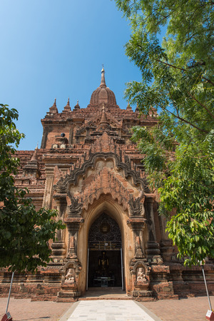 bagan: Htilominlo Temple in Bagan , Myanmar