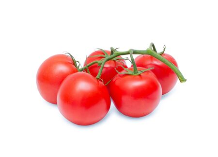 Tomatoes isolated on white background Stock Photo - 16720446