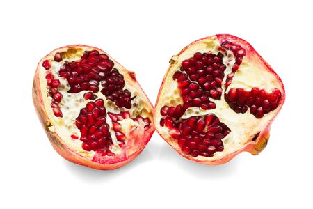 Pomegranate isolated on white background Stock fotó - 16720456