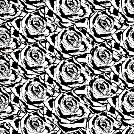 Seamless pattern with roses Stock fotó - 30677884
