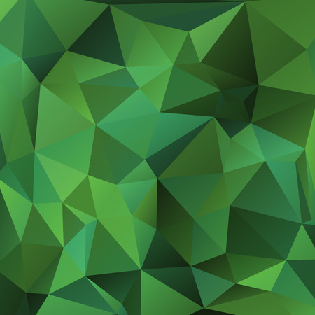 Green triangles background. Eps 8.