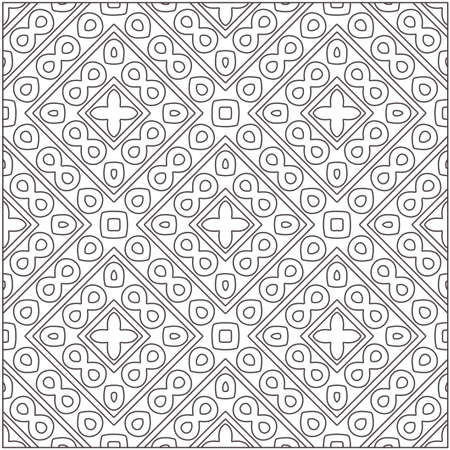 floral pattern background.Repeating geometric pattern from striped elements. Black pattern.