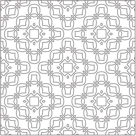 Design monochrome grating pattern, black and white patterns. black otnament. Vecteurs