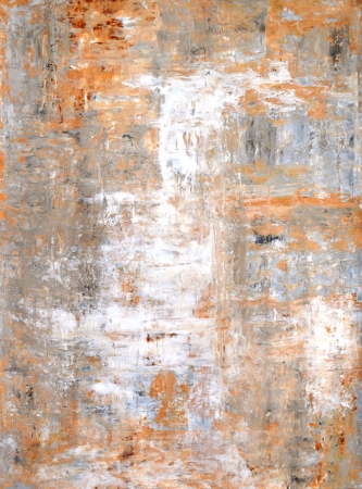 paintings: Grey and Brown Abstract Art Painting