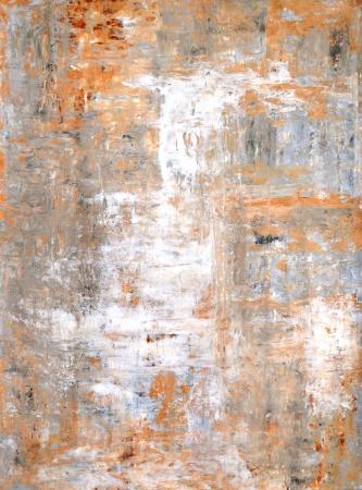 cuadros abstractos: Gris y marr�n Pintura del arte abstracto