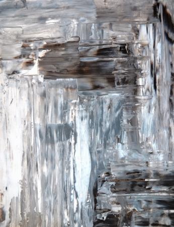 arte abstracto: Gris y Beige pintura del arte abstracto