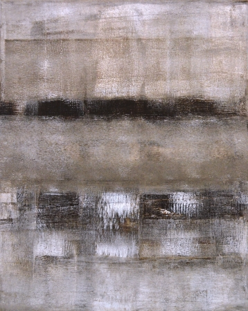 Brown and Beige Abstract Art Painting Stock fotó