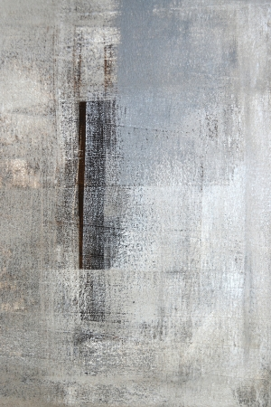 contemporary: Brown and Grey Abstract Art Painting Stock Photo